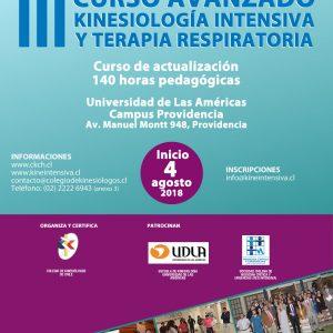 III Curso Avanzado de Kinesiología Intensiva