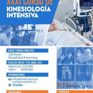 XXXI Curso de kinesiología Intensiva